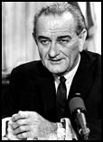 Lyndon Johnson.